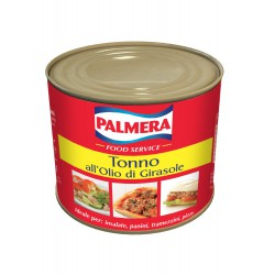 Tonno Palmera gr. 800 in olio di girasole