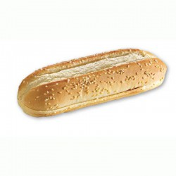 Pane lungo per hot dog