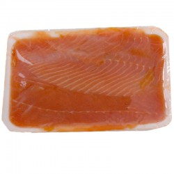 Salmone affumicato gelo ritagli