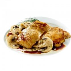 Scaloppe pollo/funghi