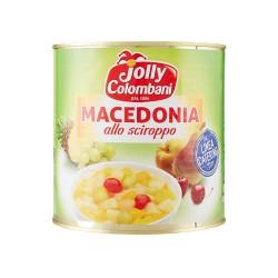 Macedonia di frutta latta